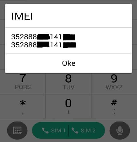 cara mengganti IMEI HP Android