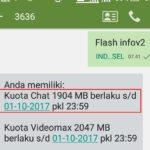 Cara Menggunakan Kuota Chat Telkomsel Menjadi Kuota Biasa 24 Jam