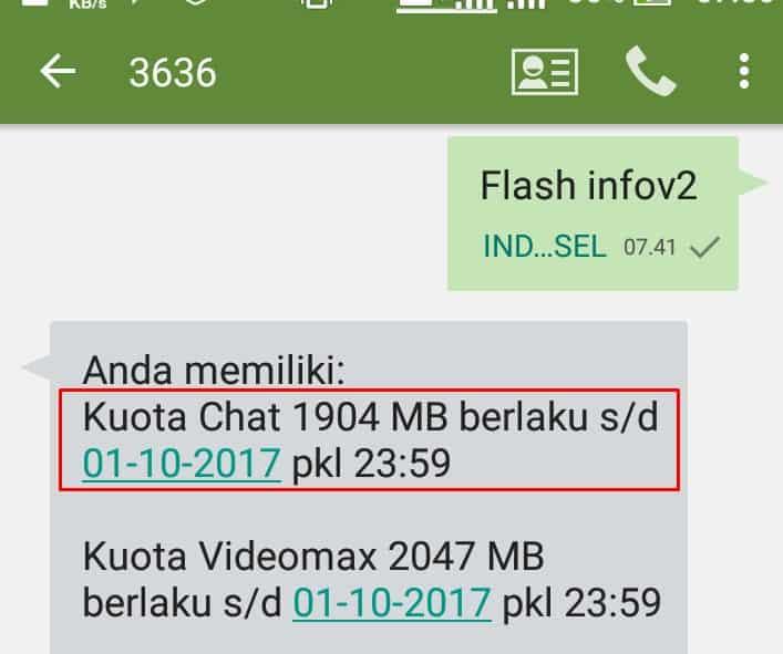 Kuota Chat Telkomsel Untuk Apa?