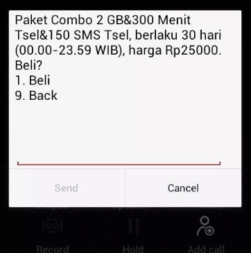 Paket Internet Combo Telkomsel Murah 2GB 25 Ribu