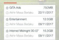 kuota gratis GiTA Ads Telkomsel