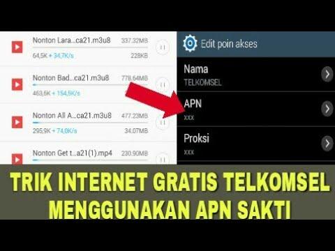 APN gratis Telkomsel Juni 2018