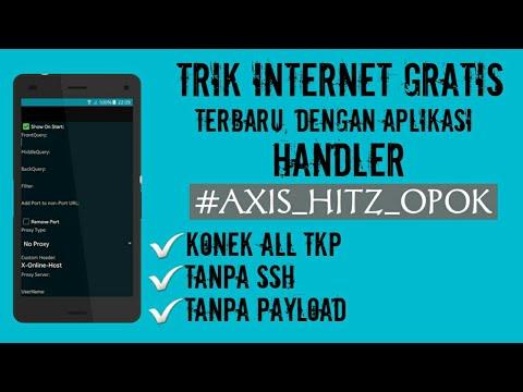 Cara Internet Gratis Axis Hitz Terbaru