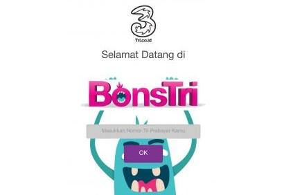 Cara menukar Poin Bonstri dengan Kuota Gratis