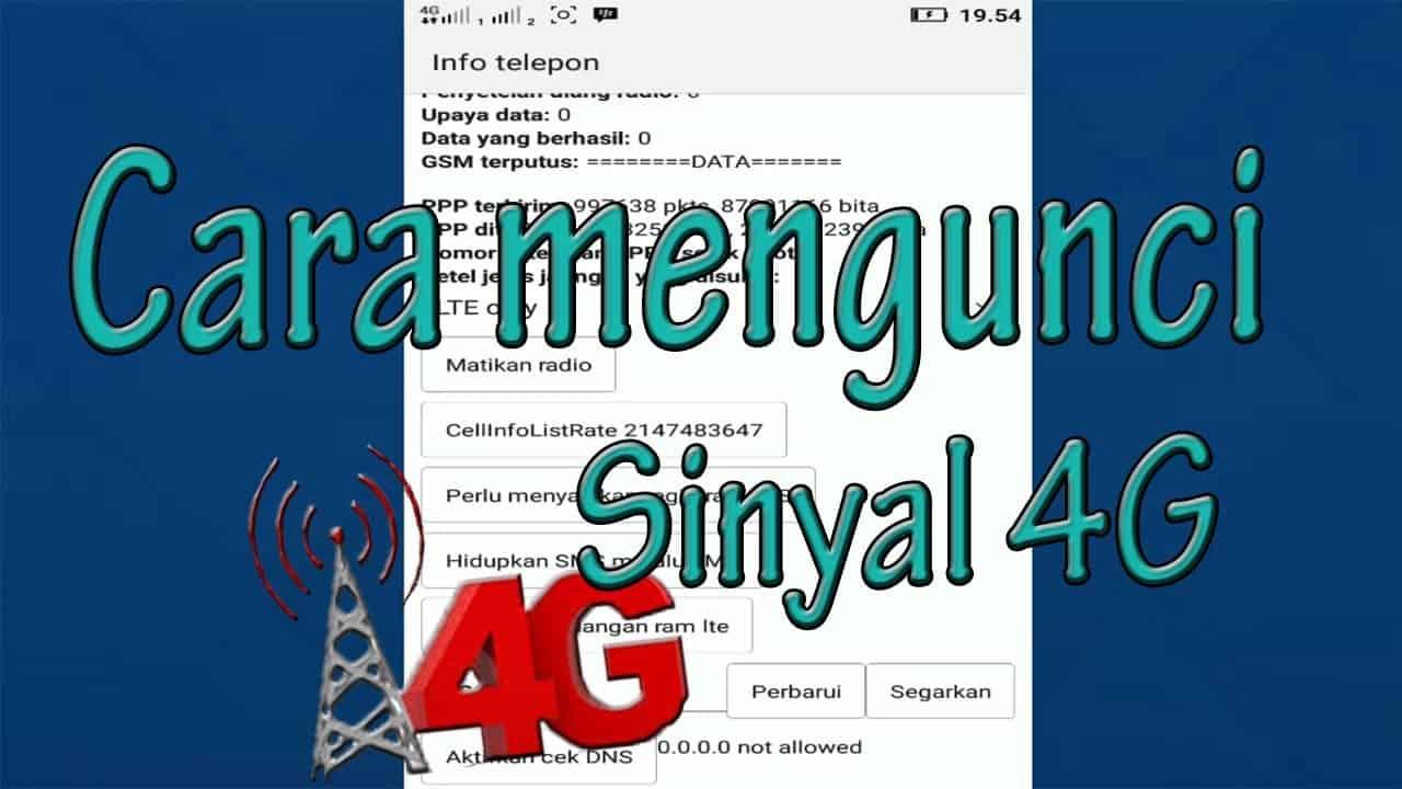 cara memperkuat sinyal 4G