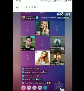 Cara VC di Bigo Lives Multi Guest