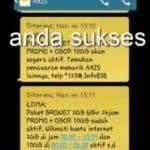 Update Kode Kuota Gratis Axis Terbaru Juni 2018