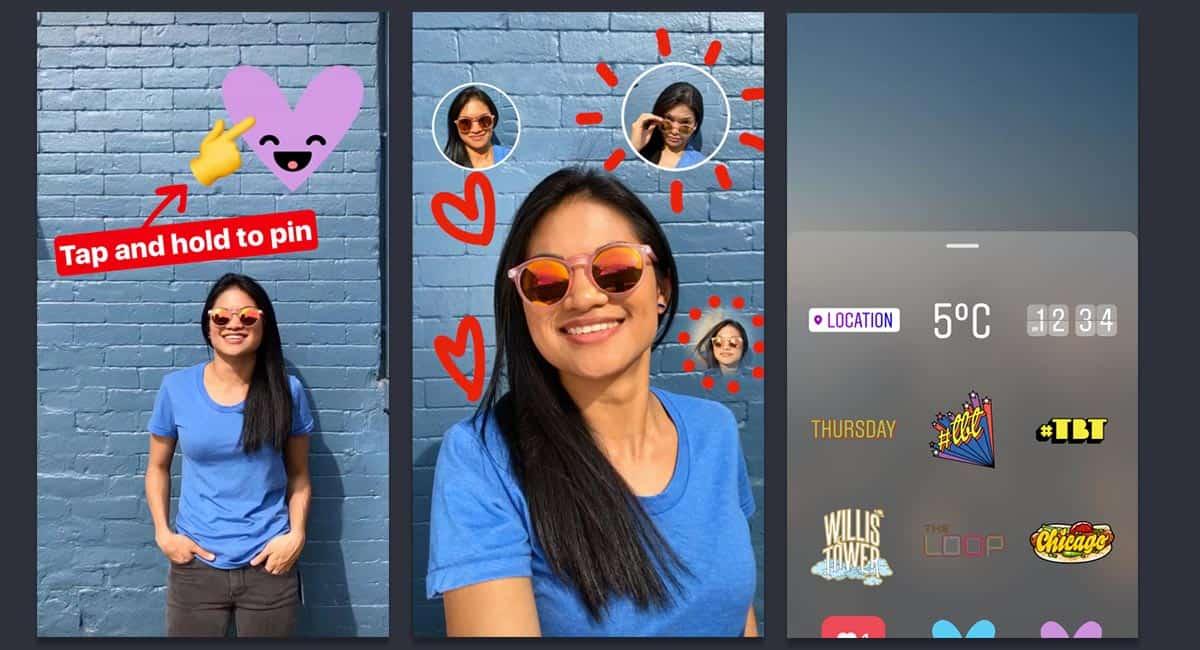 cara membuat stiker bergerak di instagram story dengan GIF