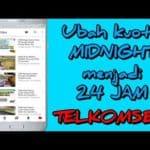 Cara Setting AnonyTun Mengubah Kuota Midnight Jadi Kuota Flash Terbaru 2018