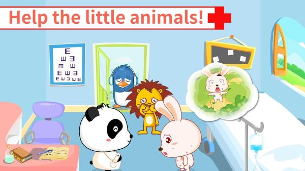game android Baby Pandas Hospital