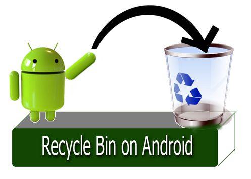 Cara Memasang folder sampah tong sampah Recycle Bin di Android