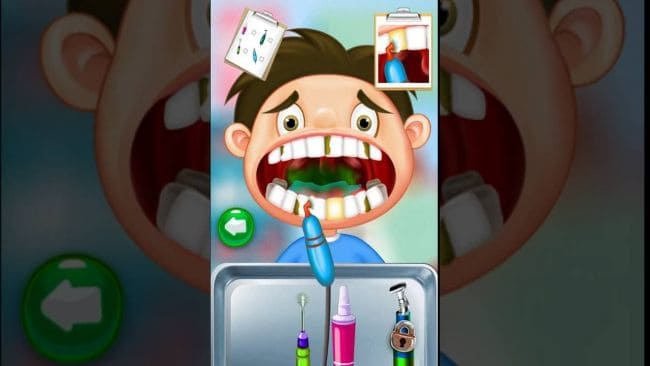Crazy Kids Dentist Surgery Game