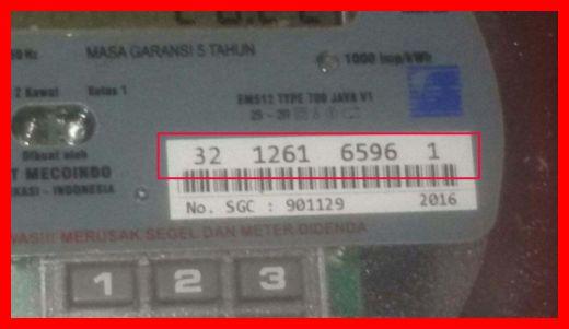 cara mengetahui nomor token listrik di meteran rumah