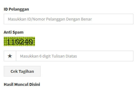 Cek Tagihan Listrik PLN Online via Cekbill.com