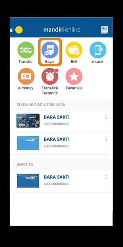 Cara Top Up Grab OVO dengan Bank Mandiri
