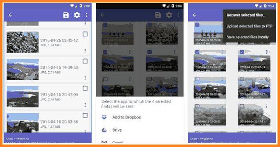 Aplikasi Mengembalikan file terhapus di android DISK DIGGER