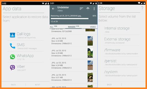 cara mengembalikan file terhapus di android dengan Undeleter recover File dan Data